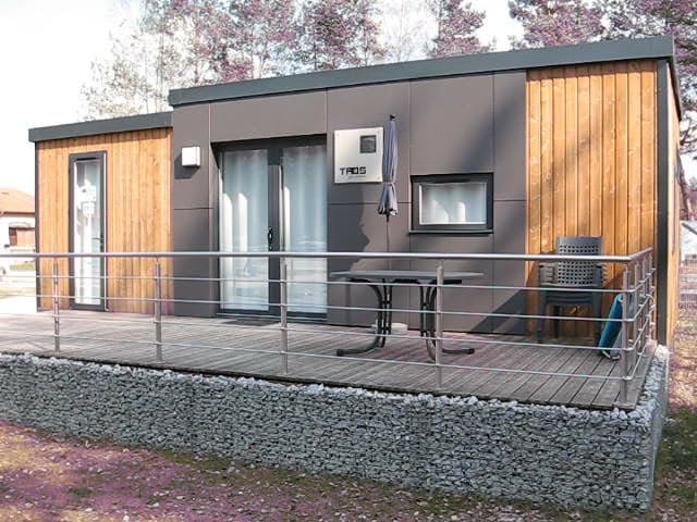 Luxuriöses Mobilheim / Ferienhaus am Murner See - Wackersdorf - Wohnung