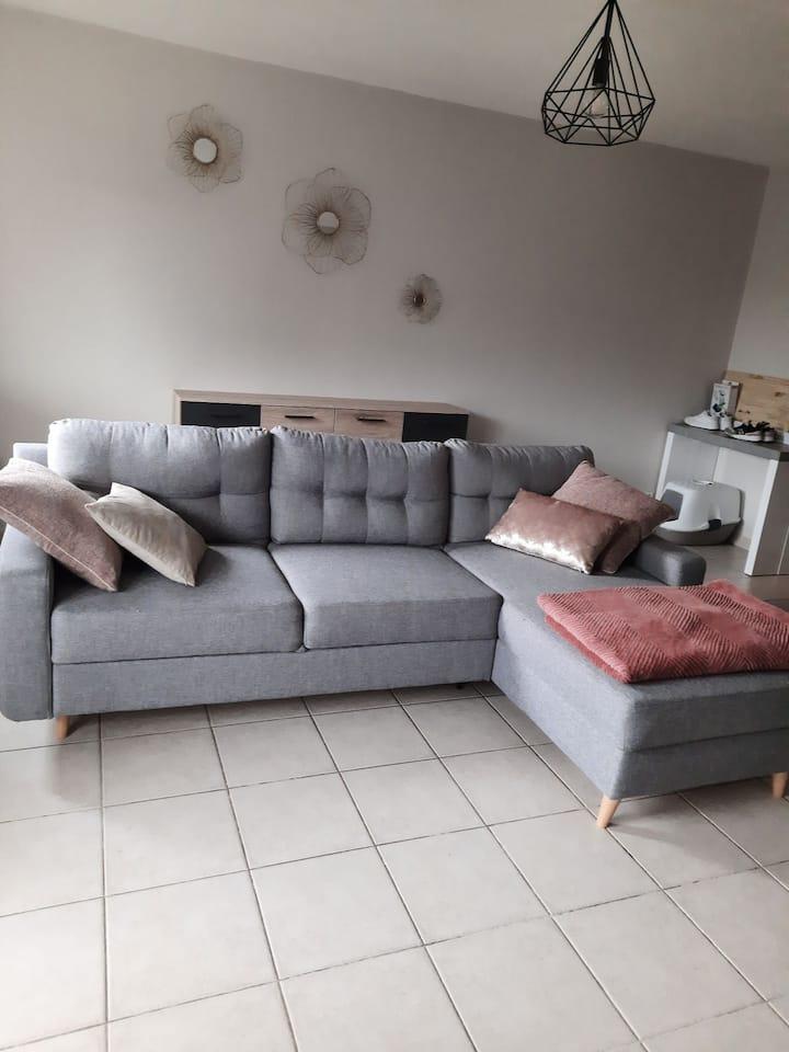 Appartement moderne et rénover tout confort.