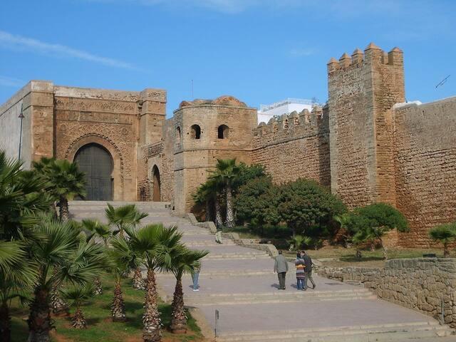 Riad en los Oudayas de Rabat