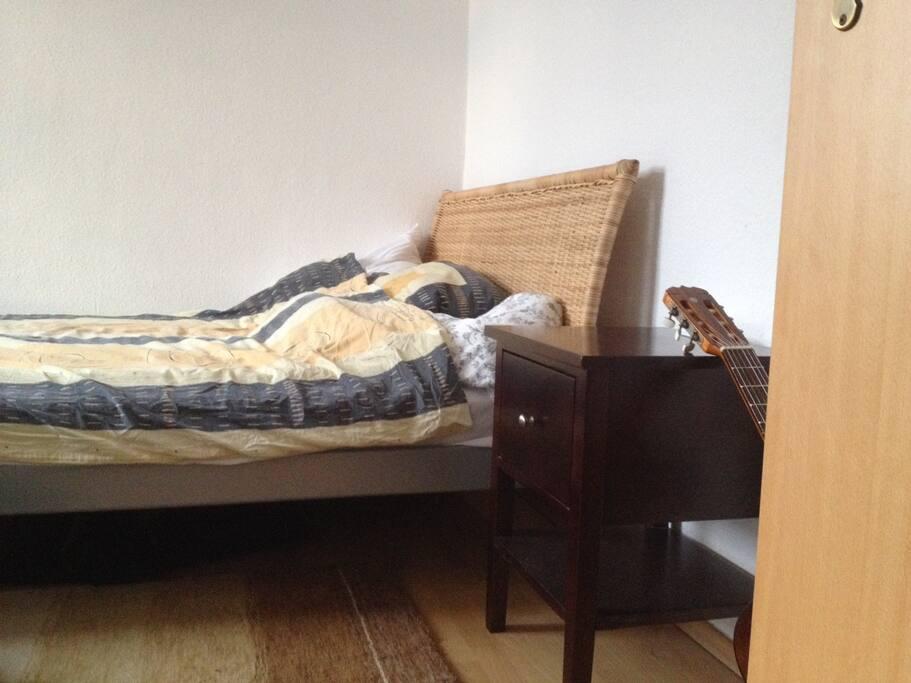 Schlafzimmer ohne direkte Nachbarn