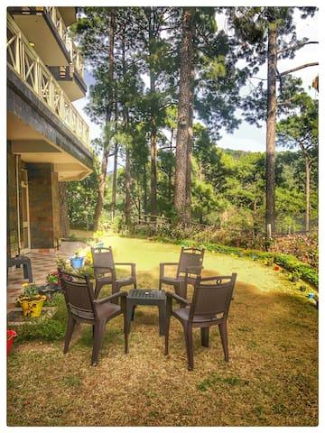 2 bedroom flat near Nainital, Bhimtal Sattal LGF4