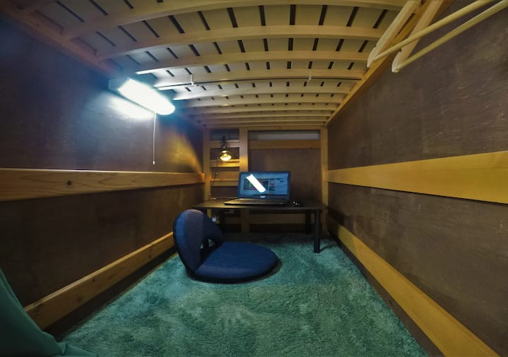 Sea side Premium dormitory with private work space