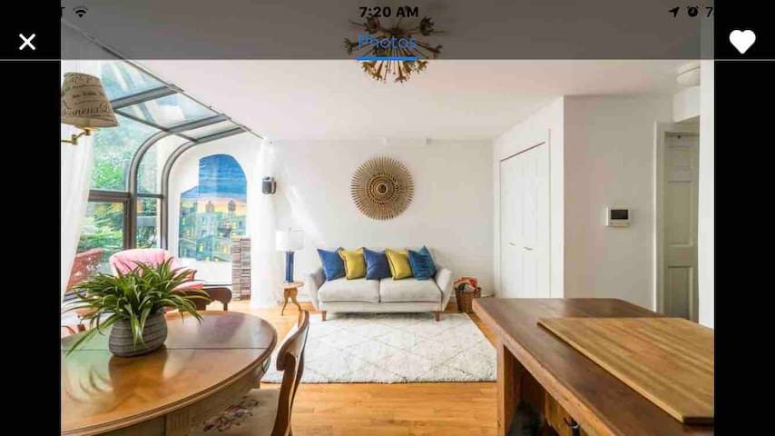 Courtyard duplex with garden, E Village / Union Sq