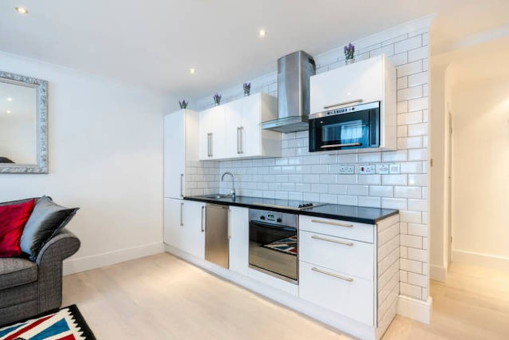 Tiles, appliances and all new work surface