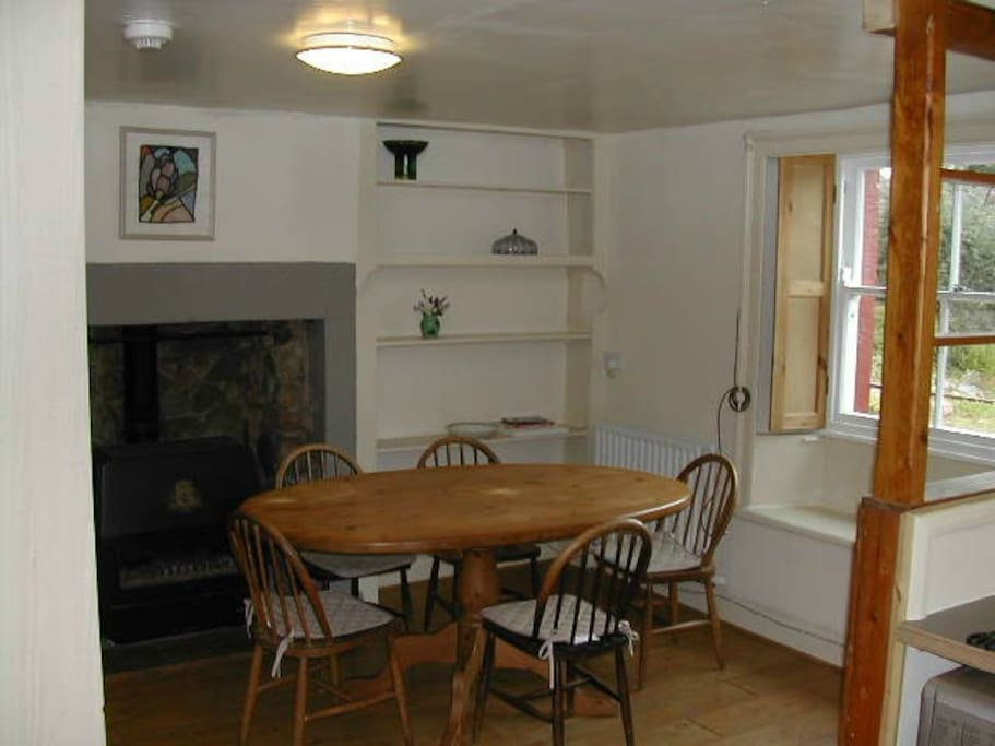 The Kitchen Seating Area