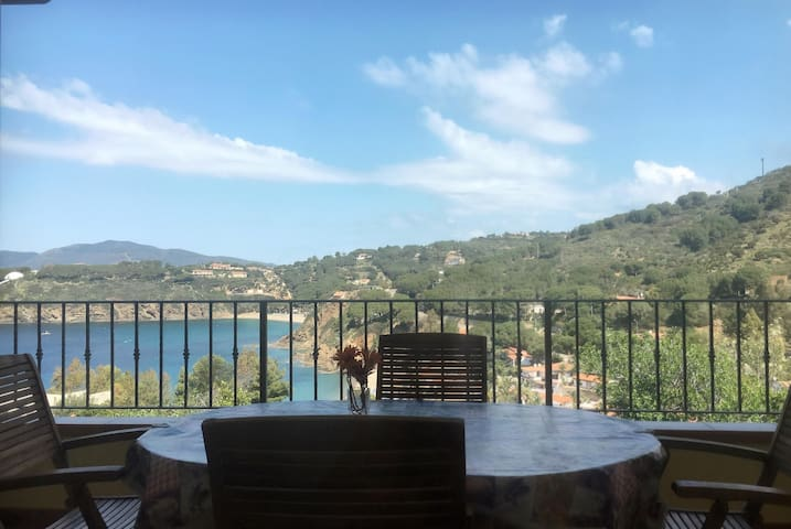 VILLA PARETI app.to  150mt dal mare - Pareti - Apartament