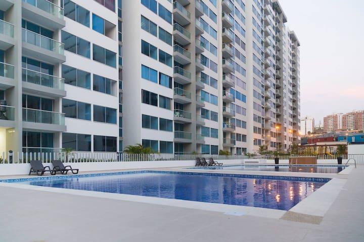*Deuxcoco Apt/Resort* en Barranquilla