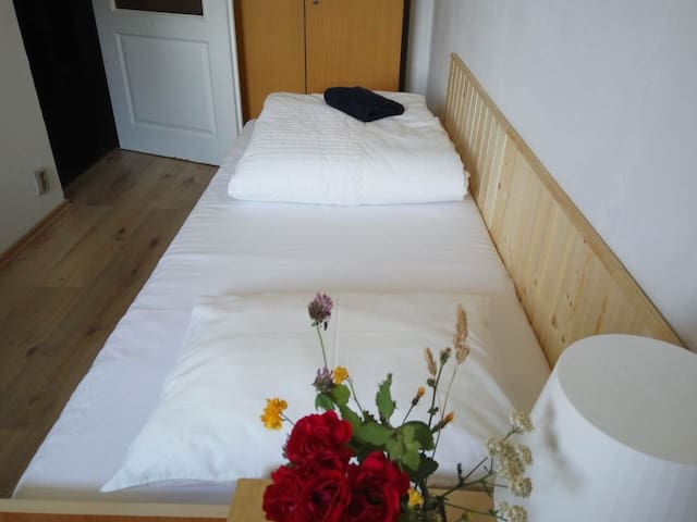 Garden Villa Single Room next to Prague Metro