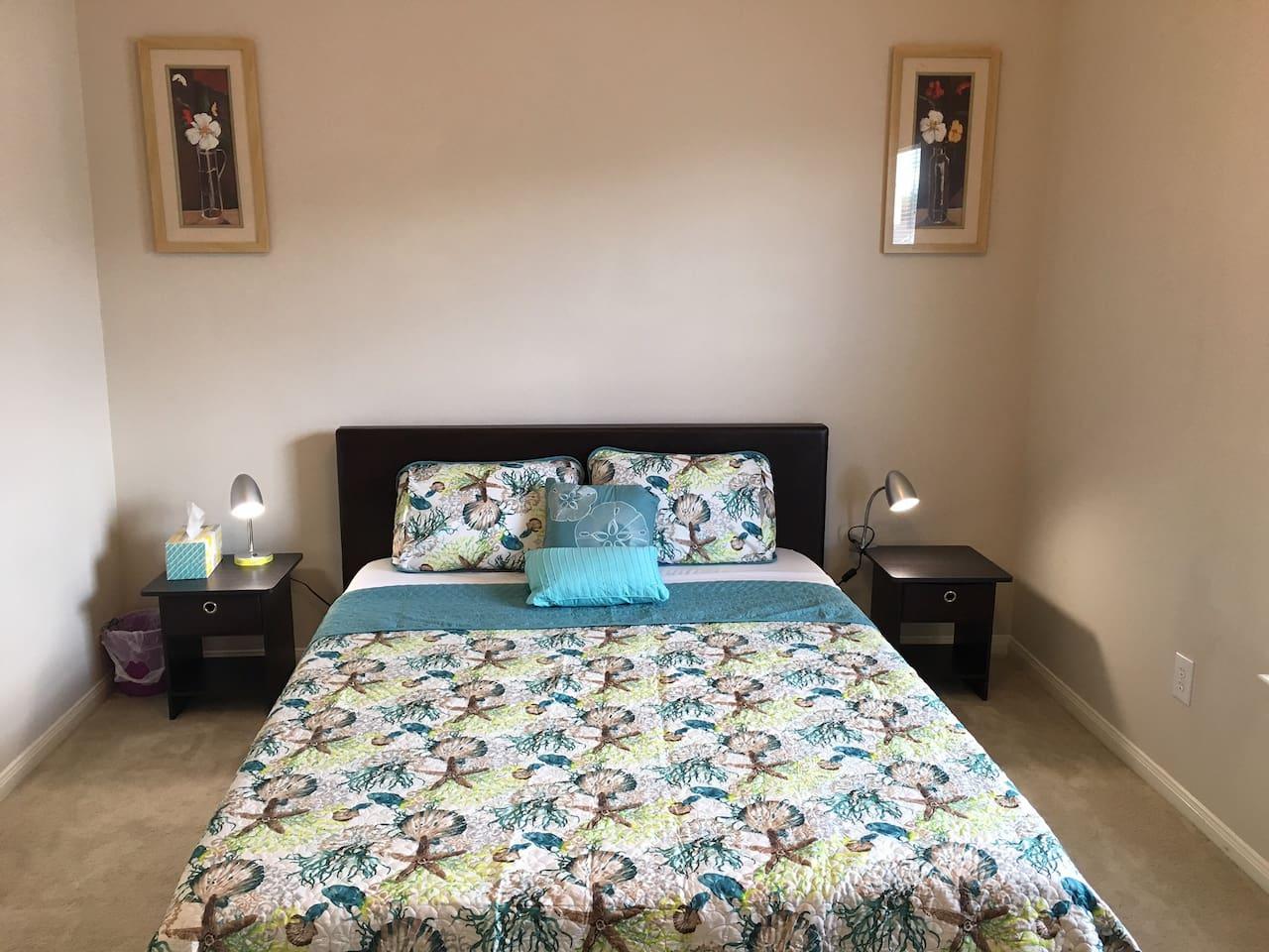 10 inch foam queen size bed