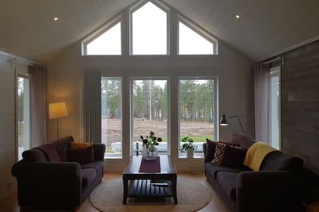 Our cozy place in Dokkas, Gällivare.