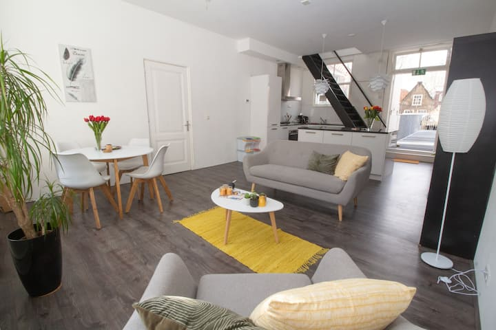 Trendy apartment in  historical city Gouda