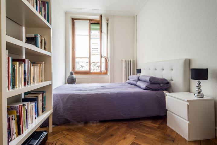 Gare, Centre, Quiet, 1 bedroom - Genebra - Apartamento