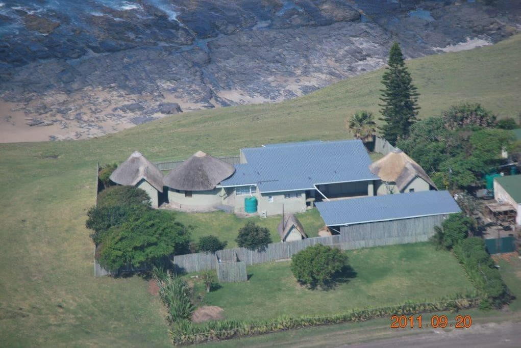 Arial View of the house