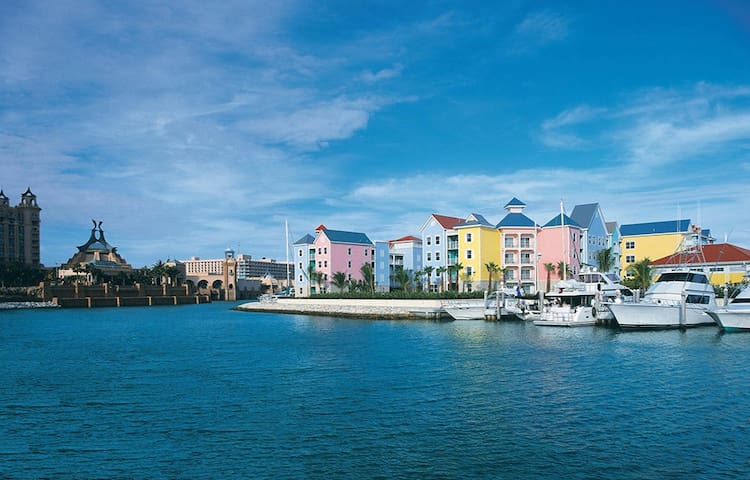 2BR Harborside at Atlantis Villa Lockoff Sleeps 8