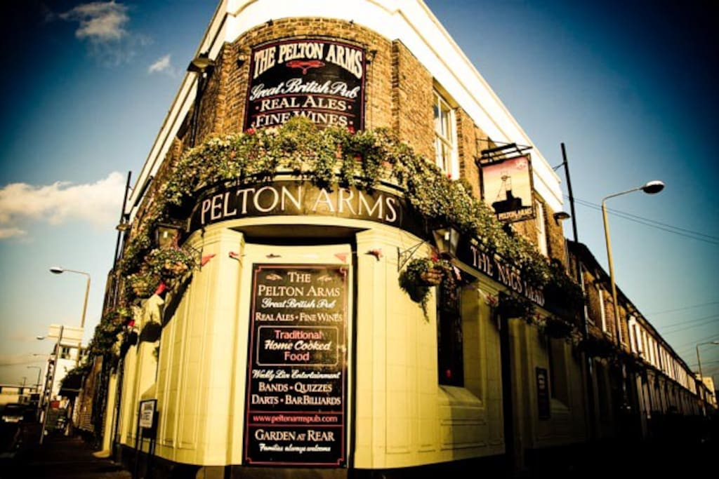 The front of The Pelton Arms