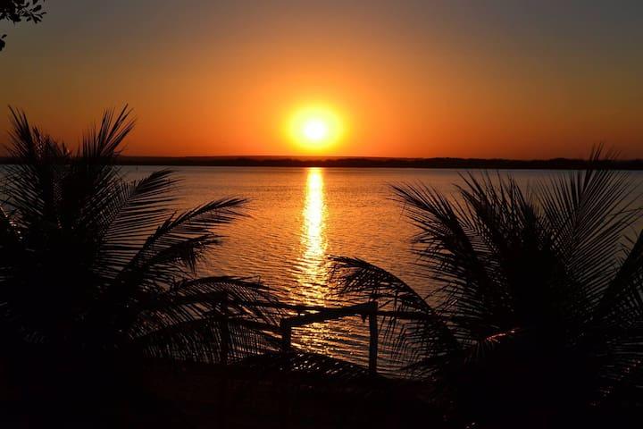 Refúgio no rio Paraná Panorama