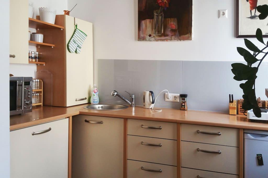 Wohn-Ess-Küche