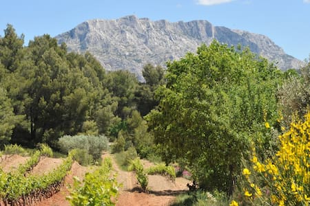 AIX - GÎTE au milieu des vignes - Le Tholonet - อพาร์ทเมนท์