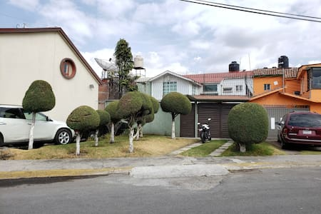 Big House in Metepec - Magic Town (WiFi) w/Parking