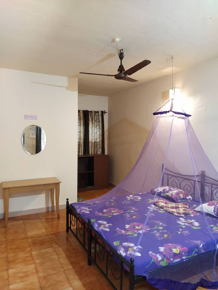 Double room  (Non AC) at Anjuna Beach (5)