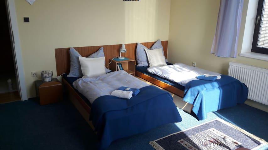 Blue room for 2