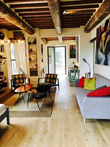 Tuscan house - The Artist's Hayloft - Montespertoli - Haus