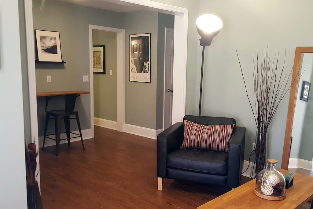 Living Room/Work Space