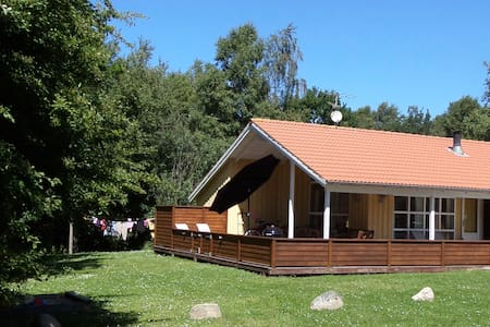 Børnevenligt og velholdt hus med masser af plads - Farsø - Ξυλόσπιτο