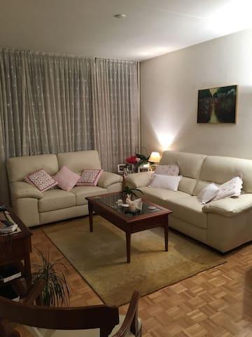 Chambre confortable proche centre . - Meyrin