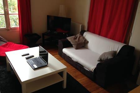 Grande chambre dans duplex avec jardin - Bezons