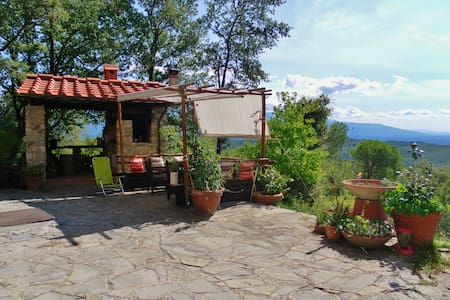 PER DUE SULLE COLLINE A FIRENZE- A WONDERFUL VIEW - House