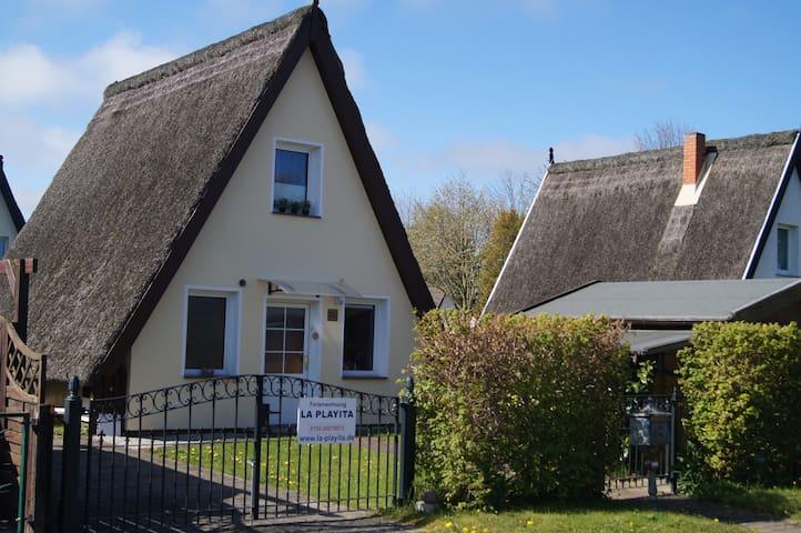 Gemütliche Finnhütte in Börgerende an der Ostsee - Börgerende-Rethwisch - Ev