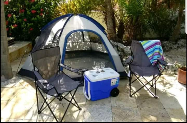 Camp outdoors 15 miles from Disney!