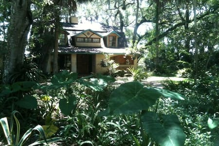 The Fairy Cottage, quiet getaway 1 mile from beach - Ponte Vedra Beach