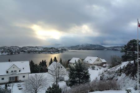 Gästezimmer am Fjord gelegen - Sagvåg