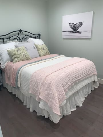 Cozy Comfort Jennifer Adams bedding & Robes.