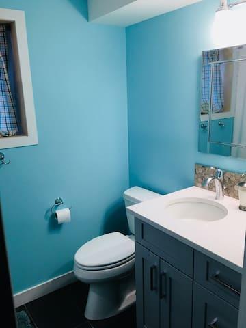 New Bathroom with in floor heating for your comfort