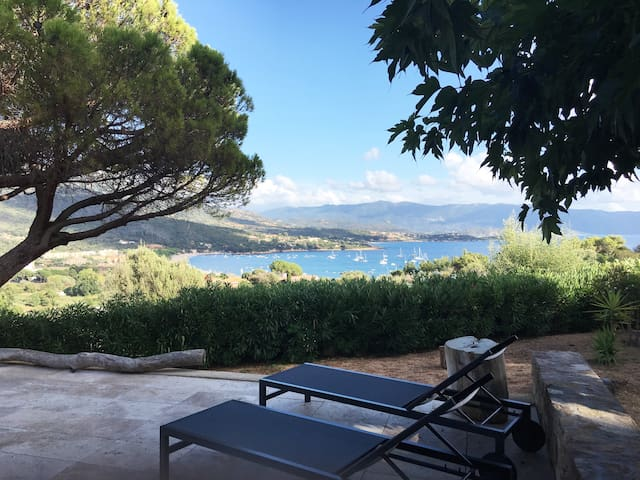 Villa Sagone vue mer et montagne