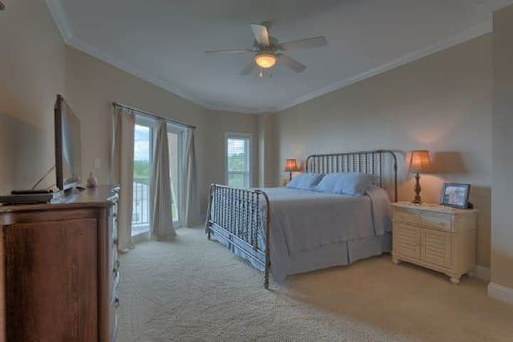Gulf View Condo in Mexico Beach Across from Toucan's Restaurant, Pool & Exercise Facility ~ Paradise Shores 403 Happy Daze