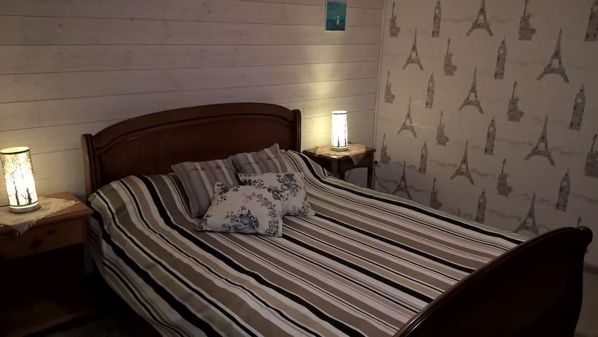 2 chambres 20 ' Puy du Fou petit déjeuner compris - Montravers - Hus