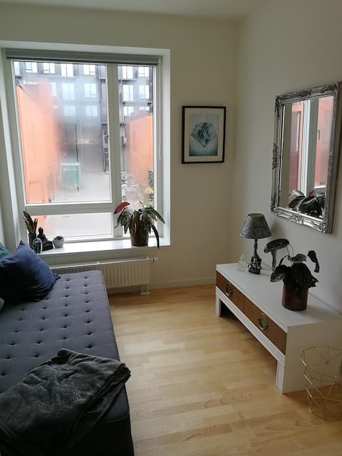 Guest room in townhouse