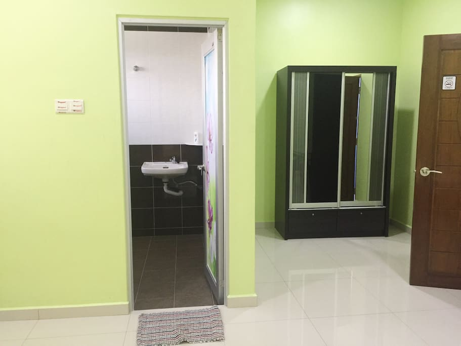 Private Bathroom for Master Room