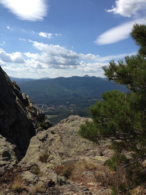 Have a little walk up into the hills... Pyrenees or just the Alberes.