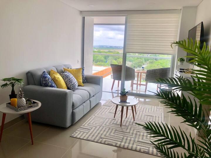 Apartamento en Cartagena - 2 Habitaciones -2 Baños