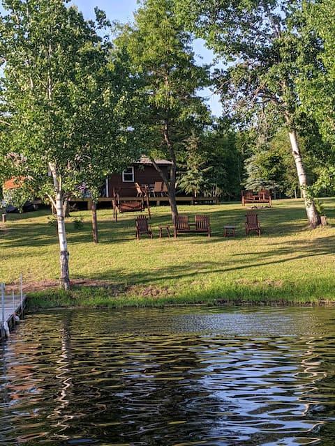 Fully Renovated Cabin on Lake Nokomis/Bridge Lake