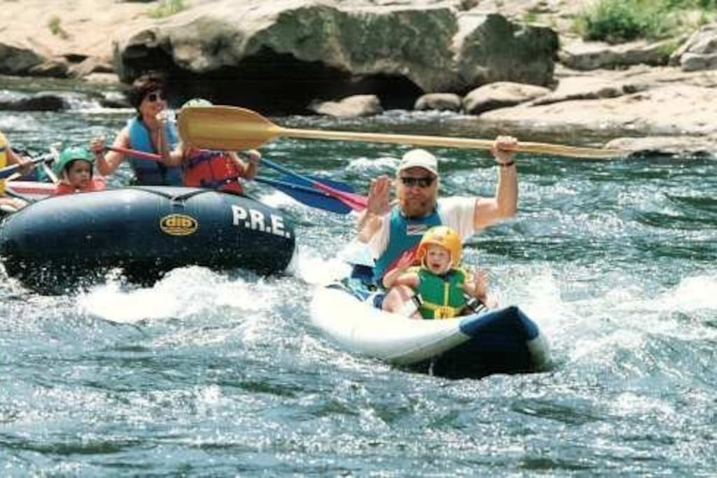 Nearby Rafting on Yough River