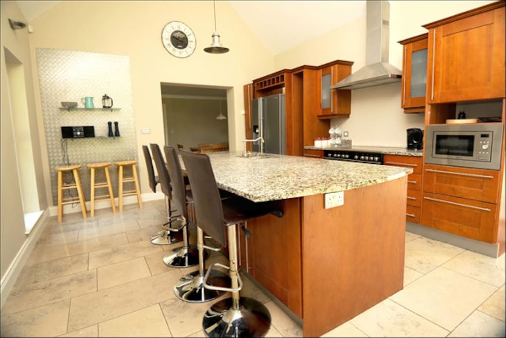 Kitchen From Patio