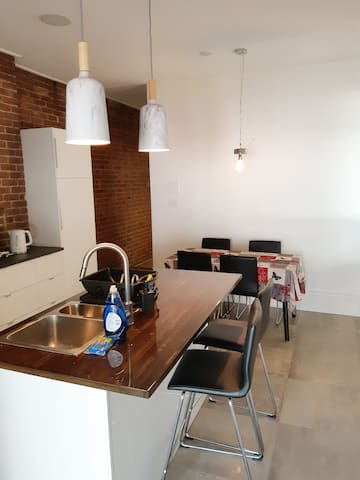 Brand new renovated kitchen