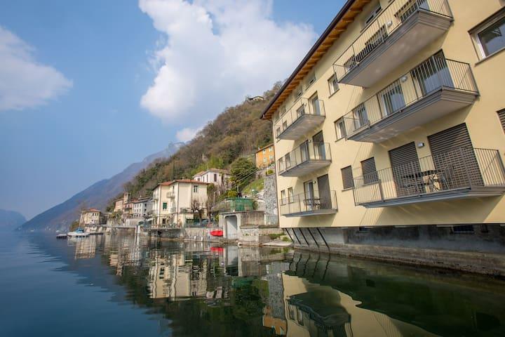 Residenza Lago Ceresio - Appartamento Tulipano