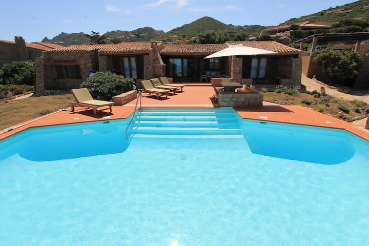 Villa Acquamarina con piscina privata sul mare - Costa Paradiso - Villa